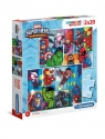 Puzzle Supercolor 2x20: Marvel Super Hero Adventures (24768) Wiek: 3+