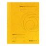 Skoroszyt A4 sprężynowy żółty Colorspan