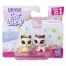 Littlest Pet Shop Lukrowe zwierzaki Cats dwupak (E0399/E1073)