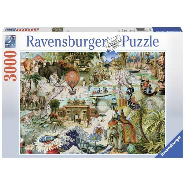 Puzzle 3000: Oceania (170685)