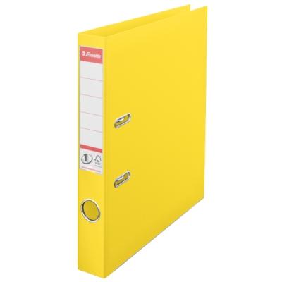 Segregator dźwigniowy a4/50  Esselte Vivida No.1 Power A4 żółty (624074) .