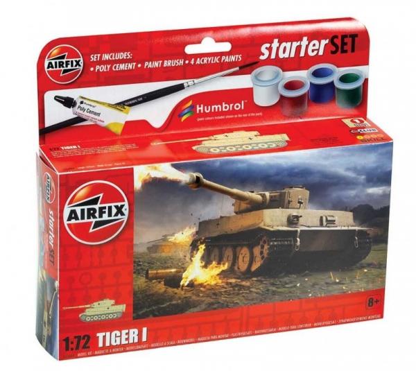 Model plastikowy Small Set Sherman Firefly (55004)