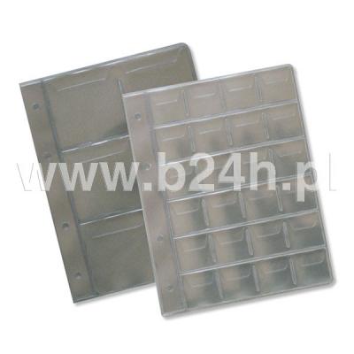 Karta wymienna numizmatyczna 30 kieszeni 214x297 A4 (311-016)