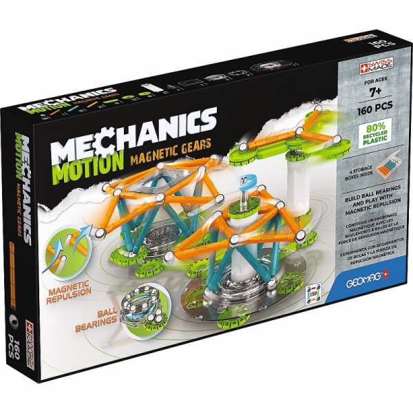 Klocki magnetyczne Mechanics Motion Gears (G768)