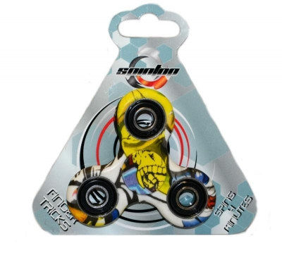 Spintop - Fidget Spinner wielokolorowe 90 sek (Uszkodzone opakowanie)