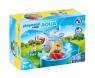 Playmobil 1.2.3 Aqua: Młyn wodny z karuzelą (70268) Wiek: 1,5+