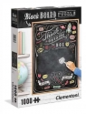 Puzzle 1000: Black Board - Think Outside The Box (39468)