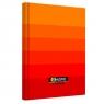 Brulion Top 2000 Ombre, A5/96k, kratka - pomarańczowy (400089372)
