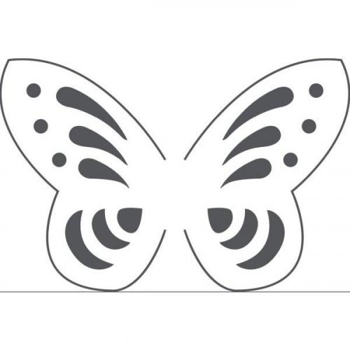 Dziurkacz kreatywny ażurowy 3D - motyl (380024)