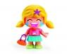 Pinypon City - laleczka Emoji 7cm z akcesoriami. Seria 9 - blond włosy