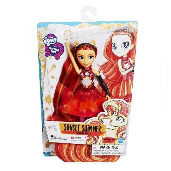 Lalka My Little Pony Moc Przyjaźni - Sunset Shimmer (E1984/E2743)