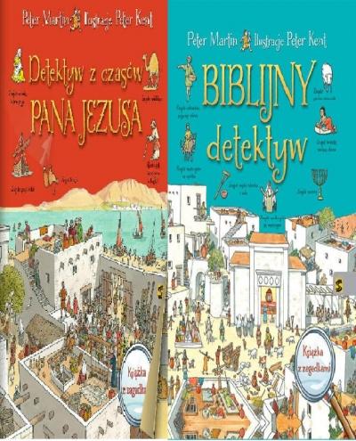 Biblijny detektyw/ Detektyw z czasów... Pakiet Peter Martin, Peter Kent