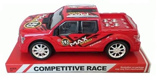 Samochód Max Speed czerwony