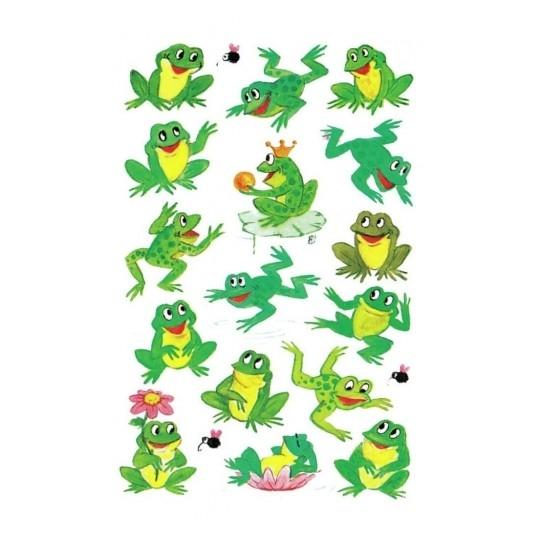 Naklejki dla dzieci - żabki (53168)