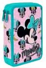 Coolpack - Jumper XL - Disney - Piórnik podwójny z wyposażeniem - Minnie