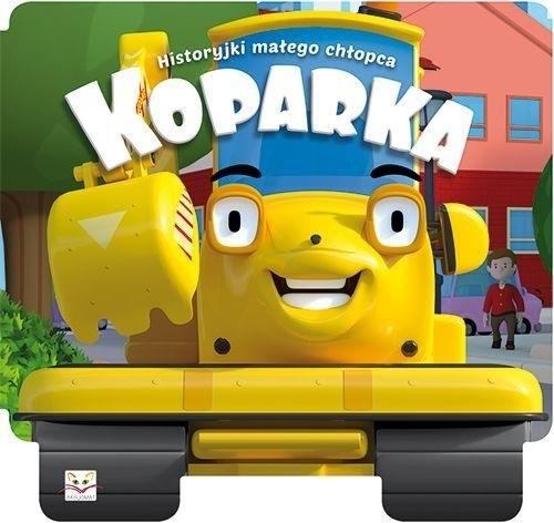 Historyjki małego chłopca Koparka