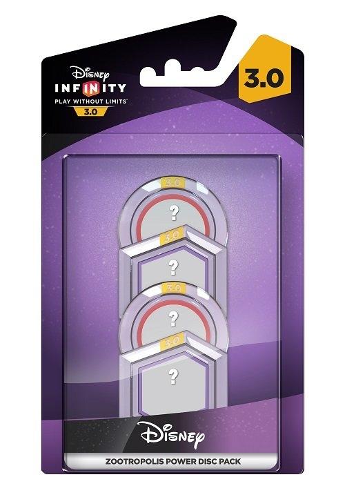 Disney Infinity 3.0: Dyski Mocy Zootopia
