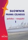 Słownik prawa celnego polsko rosyjski 1