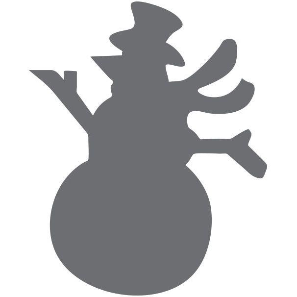 Dziurkacz kreatywny 25mm - bałwan (418390)