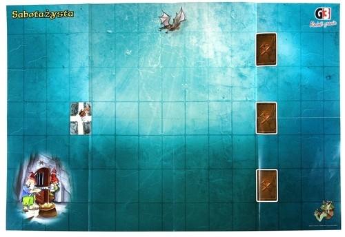 Sabotażysta: Oryginalna mata do gry (108248)