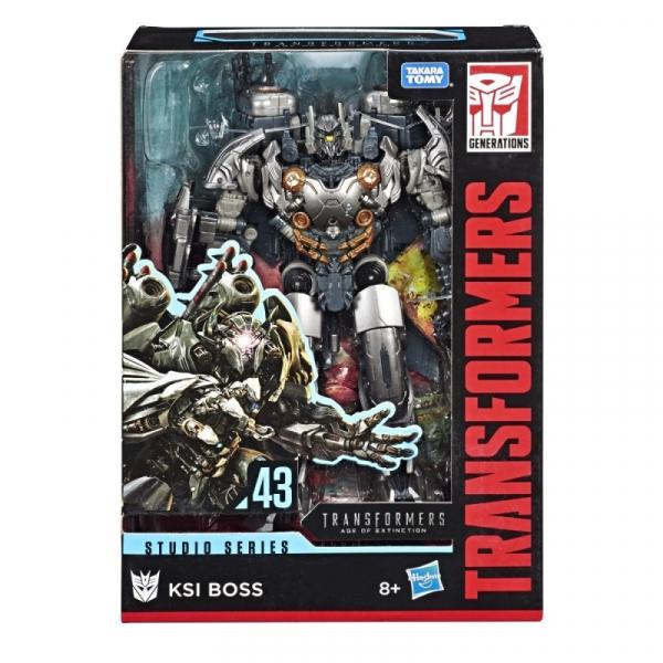 Figurka Transformers GEN Studio Series Voyager KSI Boss (E0702/E4181)