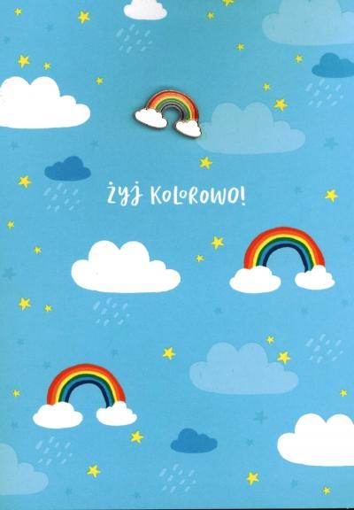 Karnet żyj kolorowo K.GIFT -177