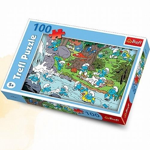 Smerfy Puzzle 100 Nad rzeką (16168)