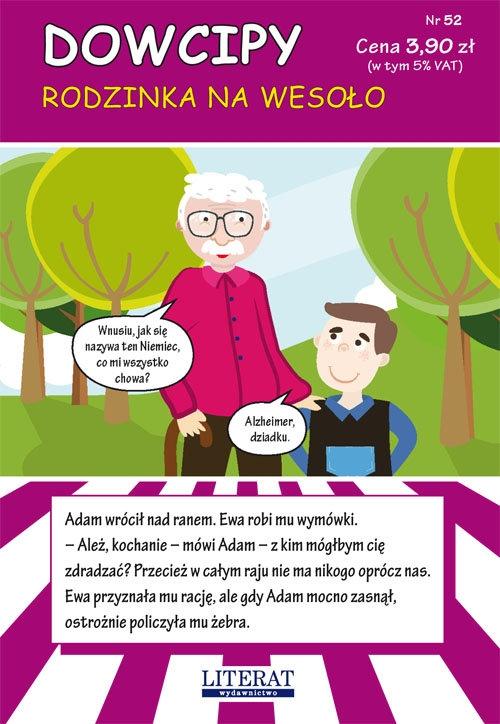 Dowcipy Nr 52 Rodzinka na wesoło Adamczewski Przemysław