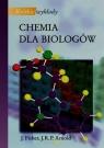 Krótkie wykłady Chemia dla biologów Fisher Julie, Arnold John R.P.
