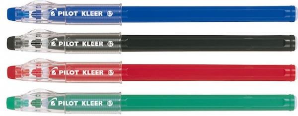 Długopis żelowy jednorazowy Pilot Kleer wymazywalny zielony (BL-LFP7-G)