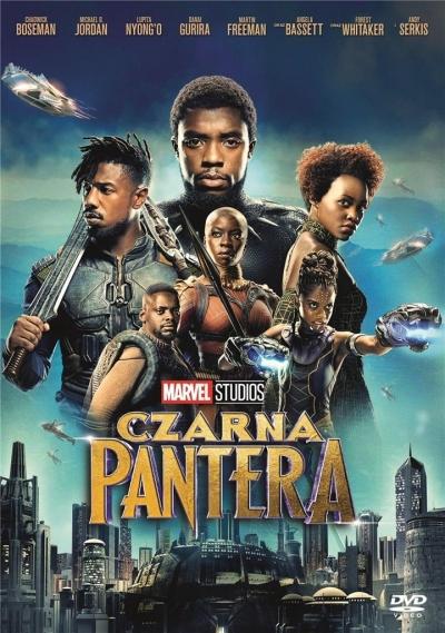 Czarna Pantera DVD Ryan Coogler