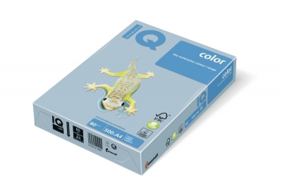 Papier ksero IQ Color A4 80 g błękitny OBL70