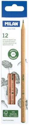 Ołówek sześciokątny HB Natural (12szt)
