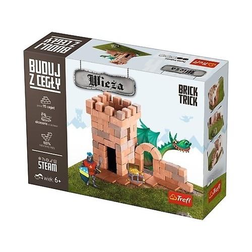 Puzzle 3D Buduj z cegły Wieża S (60868)