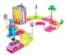 Barbie Myjnia samochodowa zestaw + Lalka (FHV91)