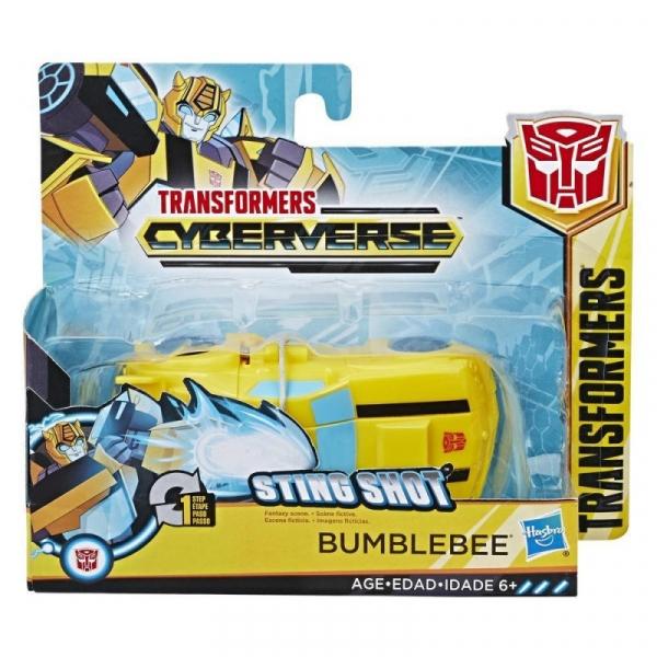 Figurka Transformers Cyberverse 1-Step Changer Bumblebee (E3522/E3642)