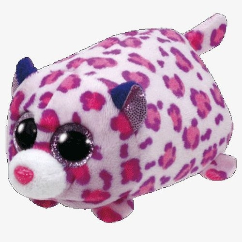 Maskotka Teeny Tys Olivia - różowy leopard 10 cm (42168)