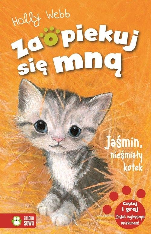 Zaopiekuj się mną Jaśmin, nieśmiały kotek Webb Holly