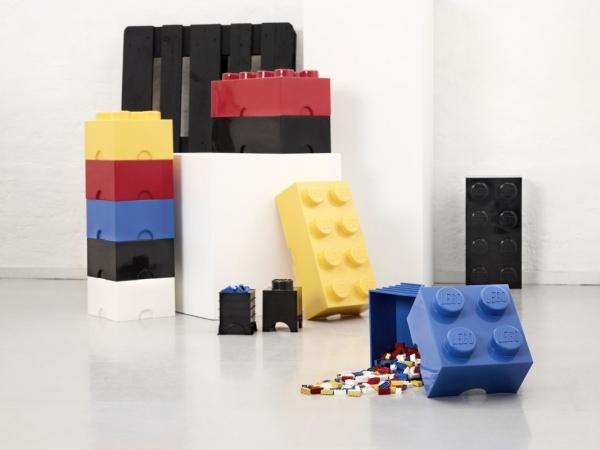 LEGO, Pojemnik klocek Brick 8 - Szary (40041740)