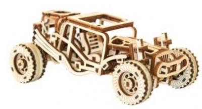Drewniany zestaw mechaniczny Buggy