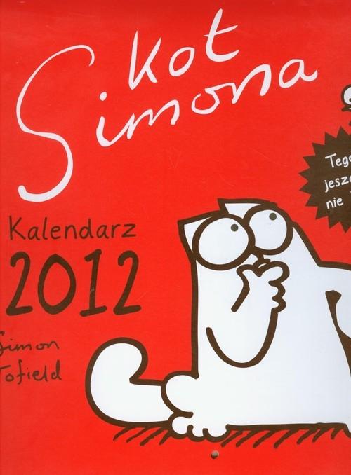 Kot Simona Kalendarz 2012 ,