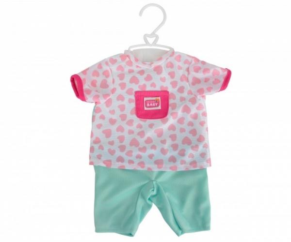 New Born Baby Ubranka z akcesoriami, zielone spodnie (105401631-4)