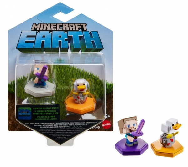 Figurki Minecraft doładowujące 2-pak 1 (GKT41/GKT42)