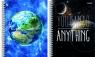 Kołozeszyt A5 Top2000 w kratkę 100 kartek Planeta 3D mix