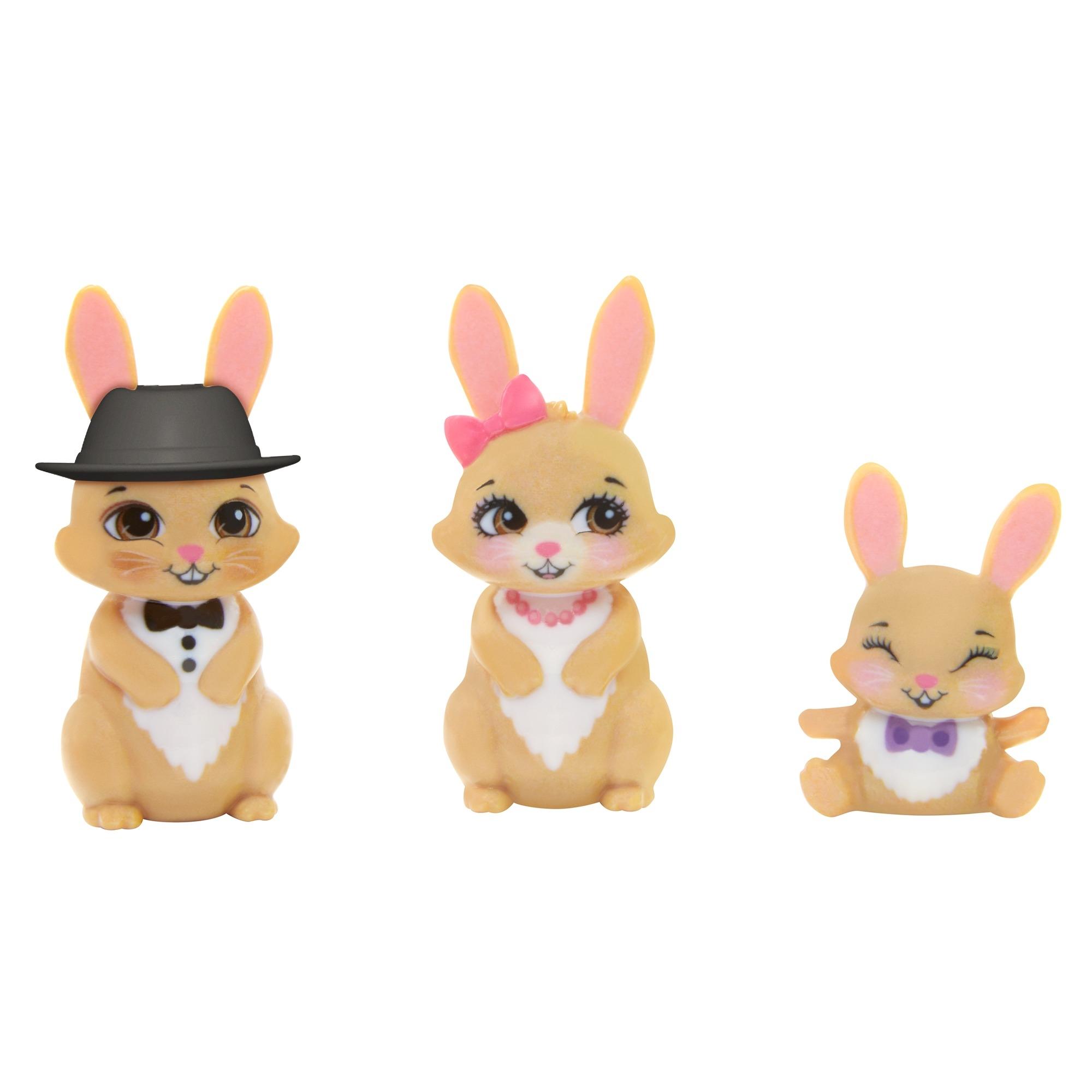 Enchantimals: Rodzina - Brystal Bunny + króliczki (GJX43/GYJ08)