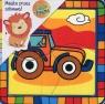 Puzzle drewniane układanka Pojazdy 4 elementy