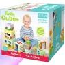 Baby Cubes Na farmie. Kostki do układania (60468)