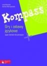 Kompass Gry i zabawy językowe Język niemiecki dla gimnazjum Nowicka Irena, Wieruszewska Dorota