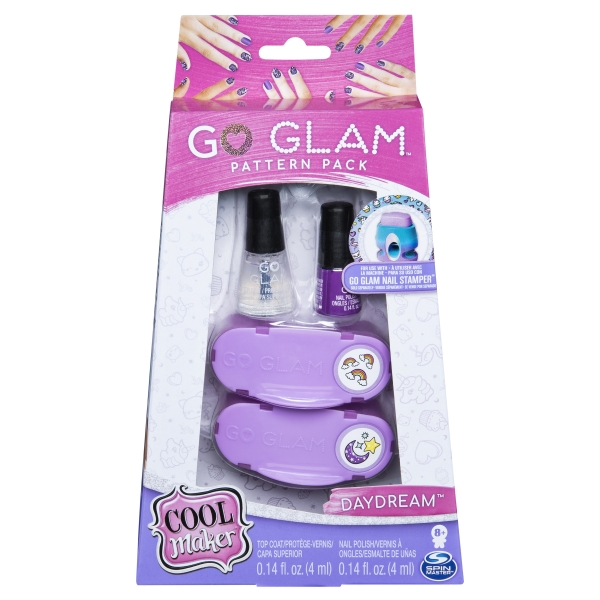 Go Glam: Duży zestaw uzupełniający - fioletowy (6046865)