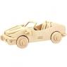 Puzzle drewniane 3D Auto